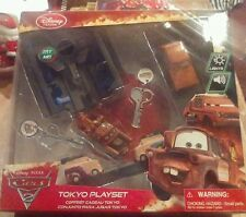 Disney Store Cars 2 Key Charger Tokyo Playset Mayter sound lights