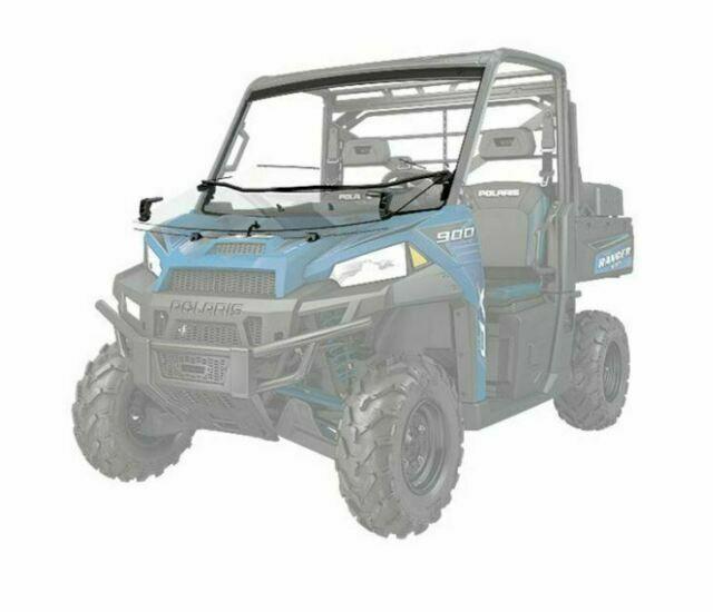 Polaris Ranger Lock Ride Flip Down Hard Coat Poly Windshield 2881919 For Sale Online Ebay