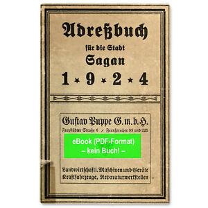 Wohlau Schlesien 1929 Wołów eBook: Adressbuch Stadt u AB356 Krs