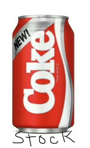 One 2019 Can of New Coke From Stranger Things Season 3 1985 Limited Edition