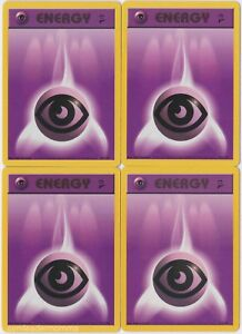 Pokemon Base Set 2 Common Card #129//130 Psychic Energy