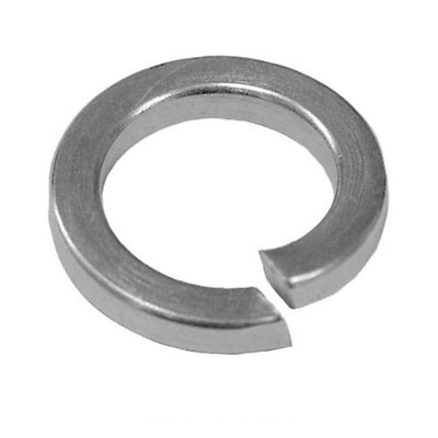 M8 Single Coil Spring Washers Square Section A2 stainless DIN 7980-6 PK