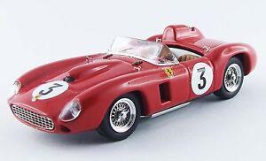 Ferrari 290 Mm Gp Di Sweden '56 1:43 Hill / Trintignant # 3 Vainqueur Modèle 0265
