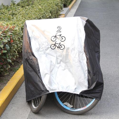 Waterproof Rust Prevention Cycle Bicycle 1 Bike Rain Resistant Cover Garage