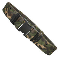 NEW Tactical Generation II Q-R Pistol Belt Quick Release Buckle - WOODLAND CAMO