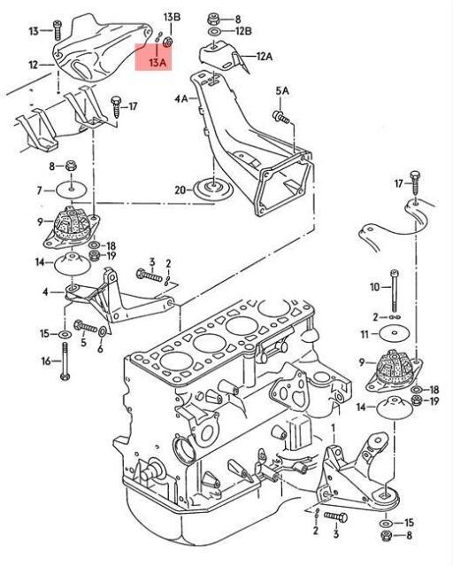 Genuine Spring Washer X5 Vw Audi Seat Caddy Clasico Jetta Corrado