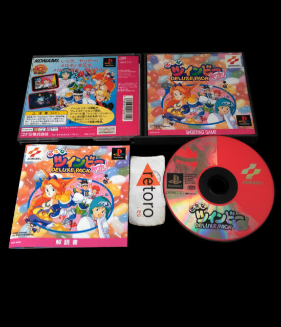 TWINBEE DELUXE PACK playstation PSX Play Station PS1 JAP Konami Twin bee