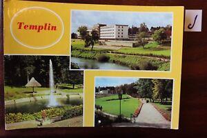 Carte Postale Vue Carte Brandebourg Templin-afficher Le Titre D'origine