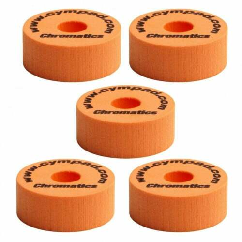 Orange 5 pack Cympad Chromatics Set 40mm x 15mm