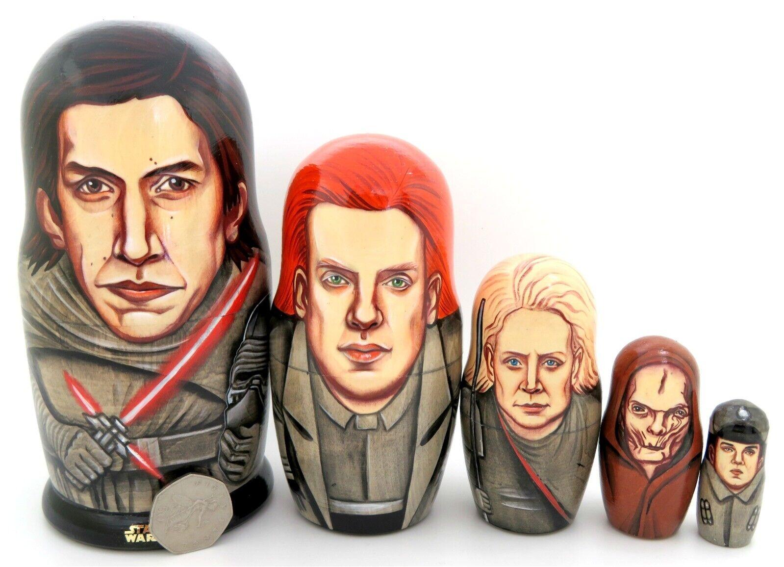 Star Wars Kylux Kylo Ren Allgemeine Hux Phasma Snoke Dark Seite Russisch Dolls 5