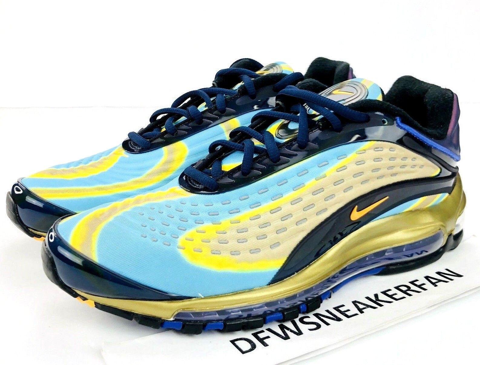 43c29eaaee Nike Air Max Deluxe OG 2018 Men's Size 11 Midnight Navy Laser orange  AJ7831-400