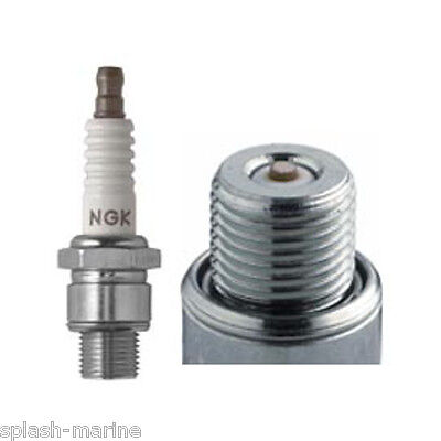 NGK BU8H 6431 Spark Plug - Mercury / Mariner Outboard Motor 3cyl 50 & 60hp, V-6