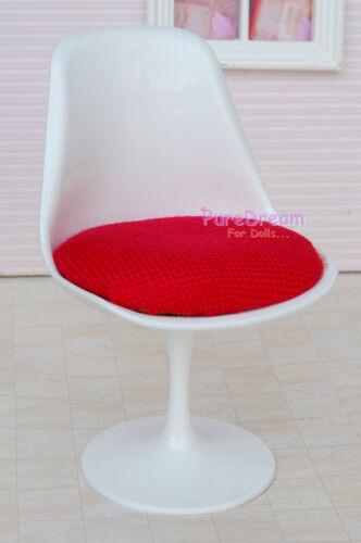 Dollhouse Miniature Furniture Tulip Chair For 1:6 Dolls
