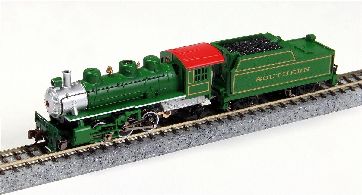 Bachmann N 51572 2-6-2 Prairie, DC, ferrocarril Sur estándar (verde)