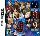 """999"" 9 Hours 9 People 9 Doors - BRAND NEW SEALED - Nintendo DS/DSi 999"