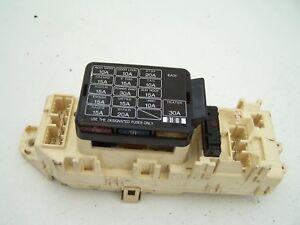 [SCHEMATICS_4LK]  Mazda MX-3 Fuse box EA31 606013 (1991-1998)   eBay   Mazda Mx3 Fuse Box      eBay