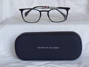 a3fed8b5 New Tommy Hilfiger Men's Eyeglass Frames. TH1473 Matt Black 50-22 ...