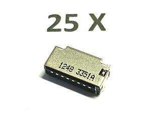 25 x 47309-3351, Molex, Micro SD Card Adapter, 8pol. HDR, 5V,vergoldet, 25 Stück