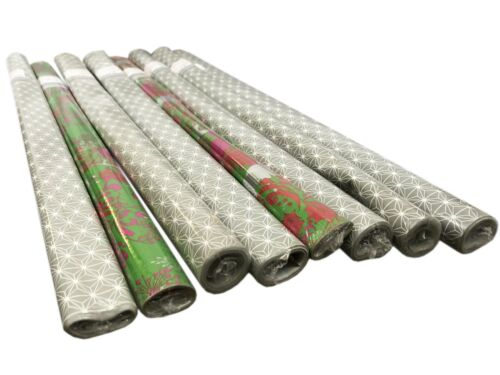 10m x 0,70m Geschenk Geschenkpapier Weihnachten Weihnachtspapier 10 Rollen 2m