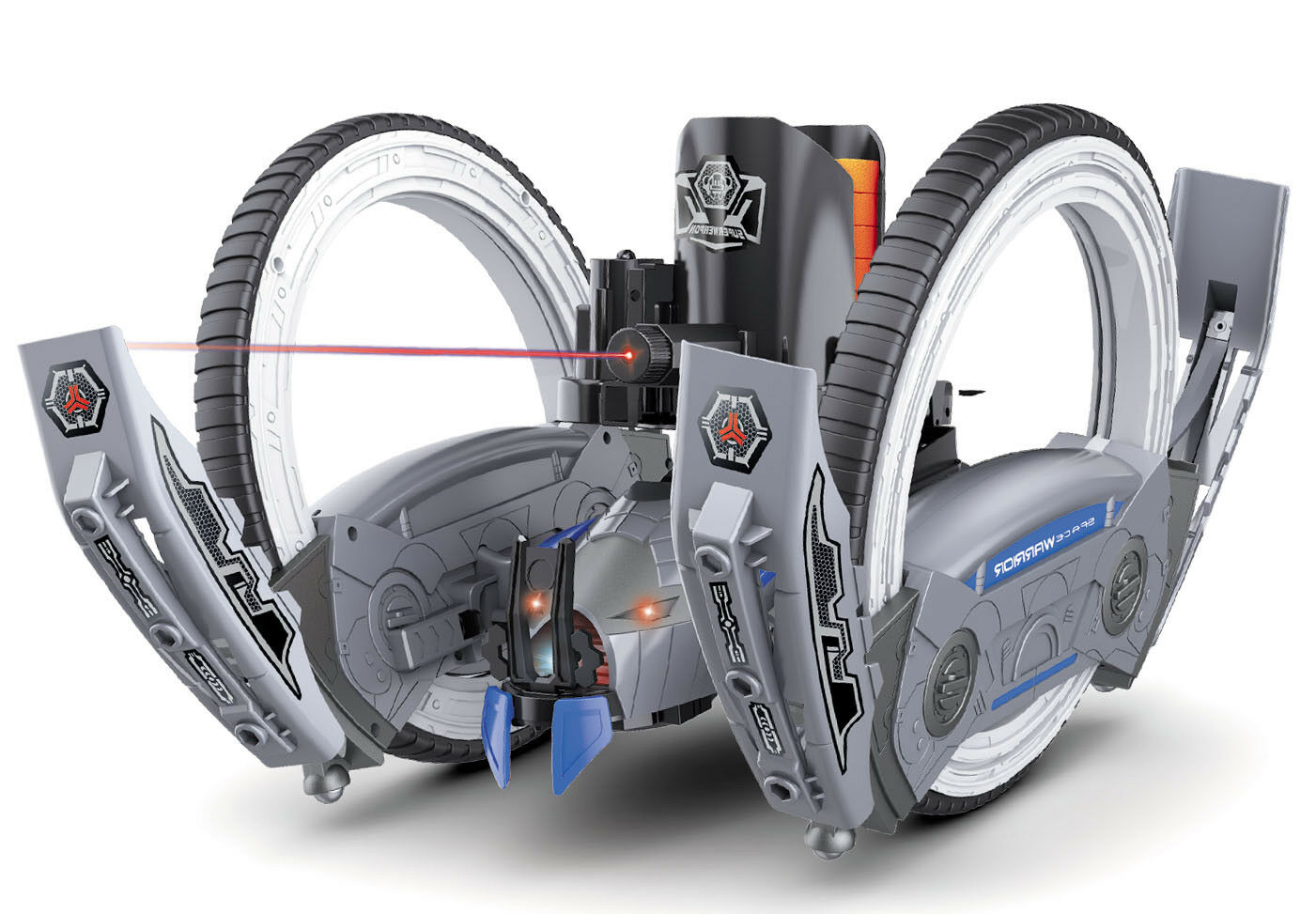 2 ruedas de gran attacknid con tirador de disco plano