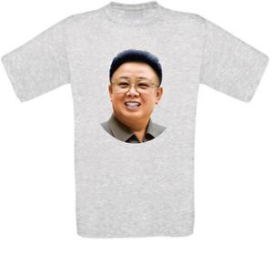 Kim Jong Il Nordkorea Kim Jong-Il T-Shirt alle Größen NEU