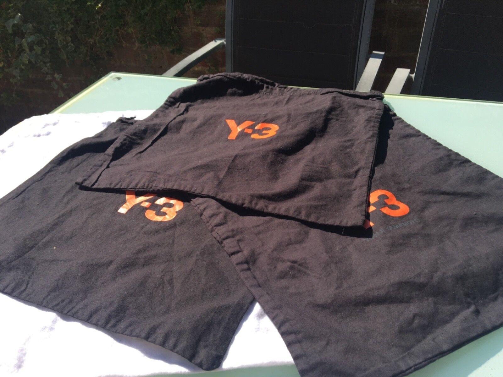 Schuhbeutel Taschen y3 adidas Turnschuhe Stiefel Trainer 9 10 11 8 42 44 neues Fitness-Kit