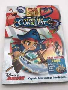 Captain-Jake-and-the-Neverland-Pirates-The-Great-Never-Sea-Conquest-DVD-New
