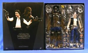 STAR-WARS-HOT-TOYS-HAN-SOLO-CHEWBACCA-NEW-HOPE-2PK-MMS263-1-6TH-SCALE