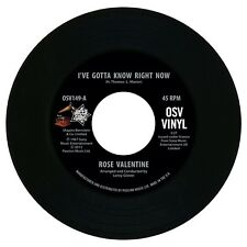 "ROSE VALENTINE  ""I'VE GOTTA KNOW RIGHT NOW""    NORTHERN SOUL    LISTEN!"