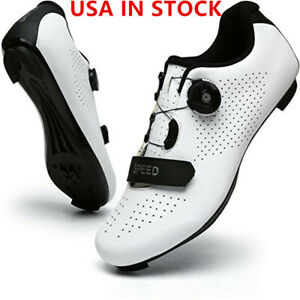 Self-Locking Road Cycling Shoes Man Athletic SPD Cleats Pedal Bike Race Sneakers