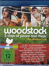 Woodstock - 3 Days Of Peace And Music [Blu-ray] [Director's Cut] ( NEU!)