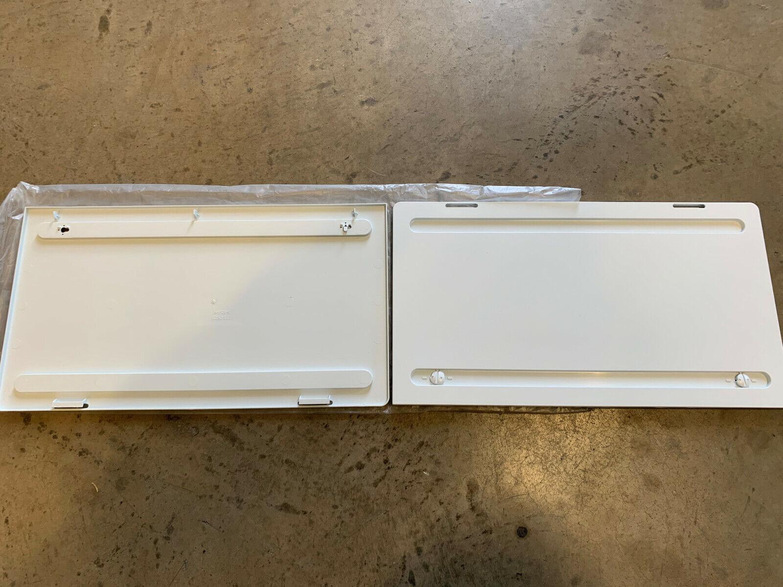 Motorhome WHITE Fridge Air Vent  365mm x W140mm x D8mm MPK 5045.21W MPK Caravan