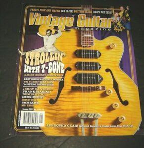 Vintage Guitar Magazine Summer 2020 Strollin With T-BONE