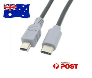 USB-C-to-Mini-USB-HighSpeed-Data-Sync-OTG-Power-Supply-Charging-Adapter-Cable-AU