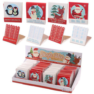 Image Is Loading 1x Christmas Nail File Match Book Manicure 6x