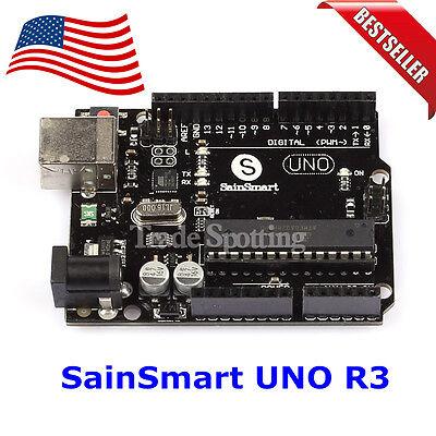 UNO R3 MEGA328P ATMEGA16U2 Development board for Arduino + USB Cable