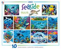 Ceaco 2015 Seaside 10 In 1 Multi-pack Jigsaw Puzzle Set 3803-7