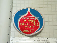 Motor Trend Import Car Of The Year 280 ZX Patch (#3119)