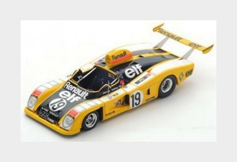 Renault Alpine A442 Le Mans 1976 Jabouille P.Tambay Dolhem SPARK 1 43 S1551
