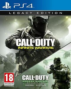 Playstation-4-PS4-cod-infinita-GUERRA-LEGACY-EDITION-Call-of-Duty-consegna-veloce