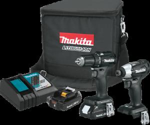 Makita-CX200RB-18V-LXTSub-Compact-Brushless-Drill-Impact-Kit-SHIP-NEXT-BUS-DAY