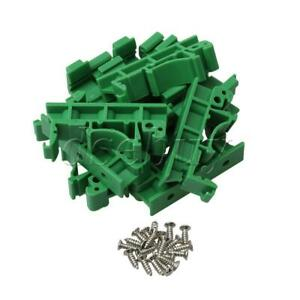 10PCS-PCB-DIN-35-Rail-Adapter-Circuit-Board-Mounting-Bracket-Holder-Carriers