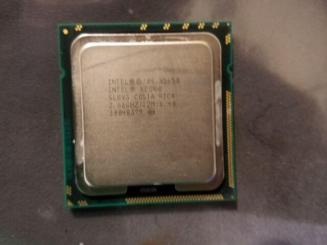 Intel Xeon X5650 2.66GHz Six Core  Processor.           #i10