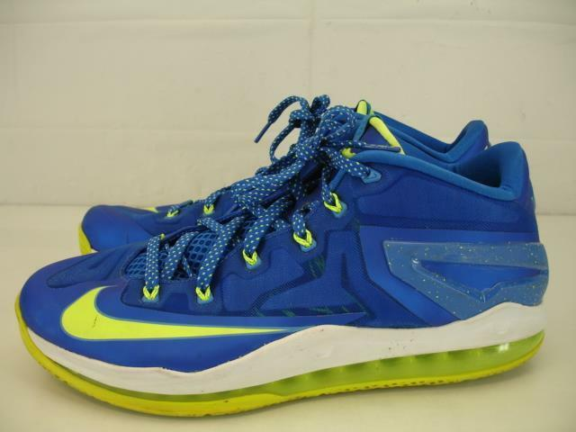Nike Air Max Lebron Xi Low Sprite Hyper Cobalt Volt Volt Volt Blau 642849-471 Mens 13 schuhe 35871b