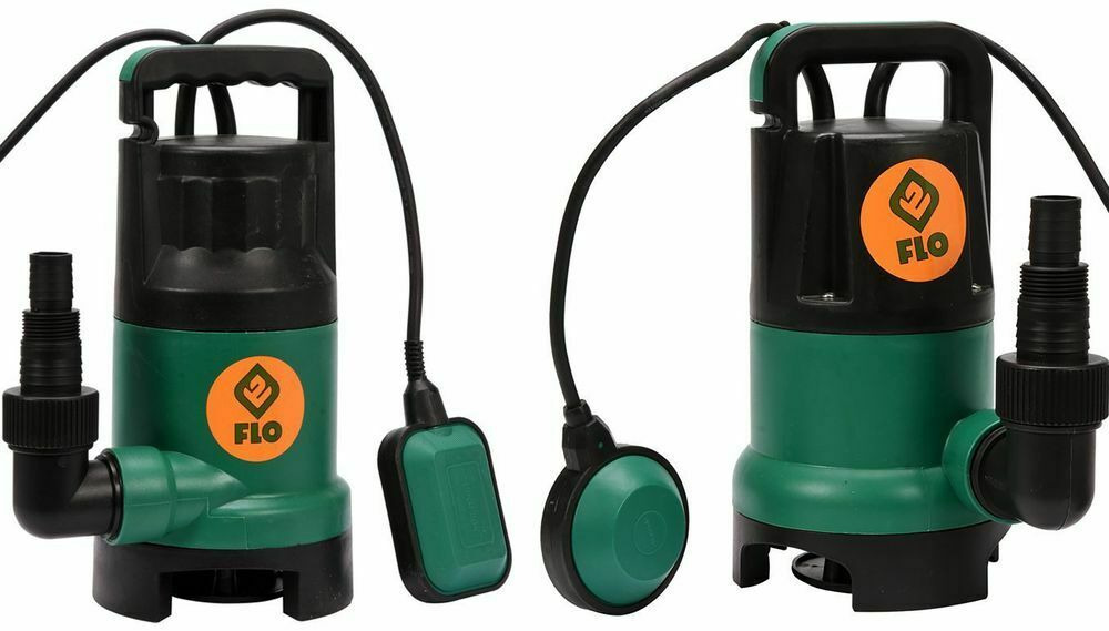 Dirty-Water Dirty Water Submersible Pump Clear Water Selectable 400W