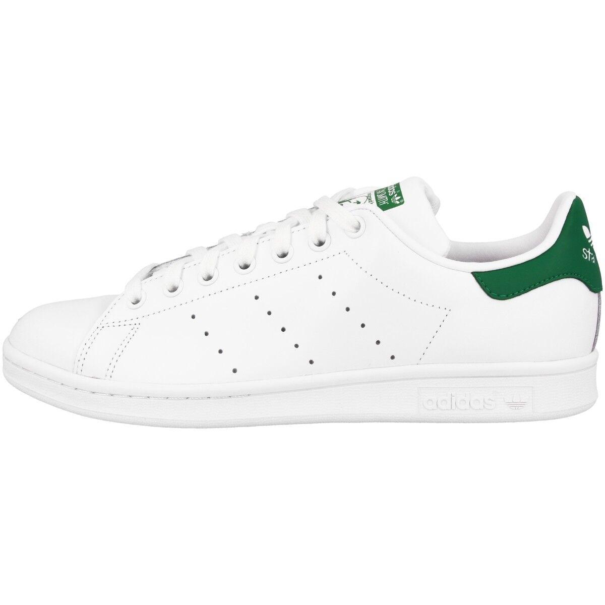 Zapatos promocionales para hombres y mujeres Adidas Stan Smith Schuhe Retro Sneaker white fairway M20324 Tennis Court Samba