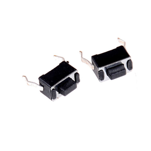 30x Momentary Tact Tactile Push Button Switch 2 Pin DIP Through Hole 3x6x4.3y1