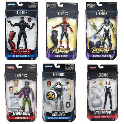 Black Panther, Spider-Man, Gwen, more.. Marvel Legends Series 6-inch Figures