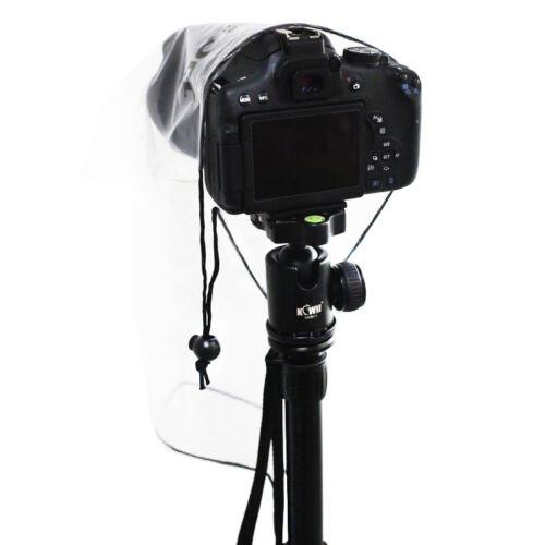 """9.8/""""x 6.3/"""" Cubierta De La Lluvia Abrigo Poncho Protector para la pequeña cámara DSLR /& Mirrorless 2 un"""
