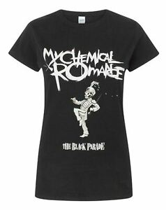 My-Chemical-Romance-The-Black-Parade-Women-039-s-Short-Sleeve-Band-T-Shirt